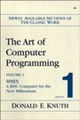 Art of Computer Programming, Volume 1, Fascicle 1 - MMIX -- A RISC Computer for the New Millennium