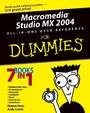 Macromedia Studio MX 2004 All-in-One Desk Reference For Dummies,