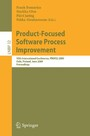 Product-Focused Software Process Improvement - 10th International Conference, PROFES 2009, Oulu, Finland, June 15-17, 2009, Proceedings