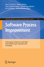 Software Process Improvement - 16th European Conference, EuroSPI 2009, Alcala (Madrid), Spain, September 2-4, 2009, Proceedings