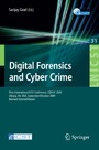 Digital Forensics and Cyber Crime. Lecture Notes of the Institute for Computer Sciences, Social-Informatics and Telecommunications, Vol 31 - First International ICST Conference, ICDF2C 2009, Albany, Ny, USA, September 30 - October 2, 2009, Revised Se