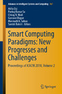 Smart Computing Paradigms: New Progresses and Challenges - Proceedings of ICACNI 2018, Volume 2