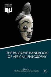 The Palgrave Handbook of African Philosophy