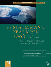 The Statesman's Yearbook 2008 - The Politics, Cultures and Economies of the World