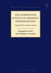 Competitive Effects of Minority Shareholdings - Legal and Economic Issues