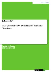 Non-classical Wave Dynamics of Ultrathin Structures