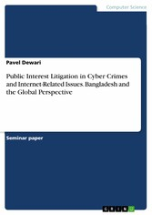 Public Interest Litigation in Cyber Crimes and Internet-Related Issues. Bangladesh and the Global Perspective