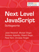 Next Level JavaScript - Schlagworte
